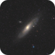 Andromeda Galaxy,                                Rahul Zota