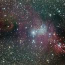 Cone Nebula region,                                John Sim