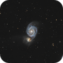 Messier 51,                                Le Mouellic Guillaume