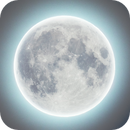 HDR composite of the full moon,                                mijajlo