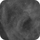 Section of Gum Nebula in Ha with Canon 135/f2 lens and EF Focus controller,                                Freestar8n