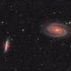 M81 & M82 Galaxies LHaRGB,                                Kesphin