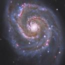 M51 Whirpool galaxy,                                CoFF