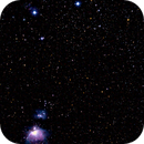 The Great Orion Nebula & Orions Belt,                                Björn Hoffmann