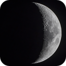 The Moon: Waxing Crescent,                                Michele Vonci