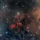 Sh2-62, W40, RCW174, star formation region in Serpens Cauda,                                José Joaquín Pérez