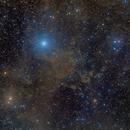 Bright and Dark Nebulae in Cepheus,                                Terry Hancock
