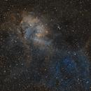 Sh2-132 Lion Nebula in Cepheus,                                Benny Colyn