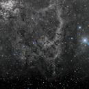 NGC 3247 Ha-Line w/ RGB Stars,                                Alex Woronow
