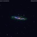 m98 galassia in chioma berenice                                                       distanza 60 milioni A.L.,                                Carlo Colombo