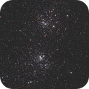 NGC 884 and NGC 869- Double Cluster,                                Terrance