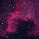 Great Wall of North American Nebula,                                Göran Nilsson