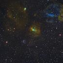 Bubble nebula and LDN 1230,                                Janos Barabas