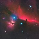 IC434 - Horsehead and Flame Nebulas,                                Kyle Pickett