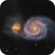 Messier 51 - Whirlpool Galaxy,                                Łukasz Sujka