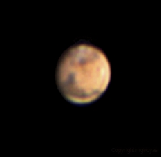 First Mars with barlow and motors,                                Marcos González T...