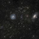 NGC 5101,5078 and dust,                                Vadim Kozatchenko