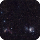 ORION (wide field, 135mm) new attempt in city light pollution (with no Moon),                                Cyril NOGER