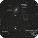 M81-M82 and surrounding galaxies,                                Steven Bellavia