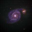 M51 Whirlpool Galaxy,                                Greg Harp