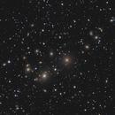 PERSEUS A Galaxy cluster with  ASI 294 MC Pro,                                Jeffbax Velocicaptor
