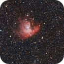 NGC281 Pacman nebula. DSLR image,                                Kees Scherer