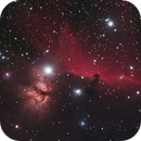 Flame and Horsehead HaRGB with Samyang 135,                                Ben