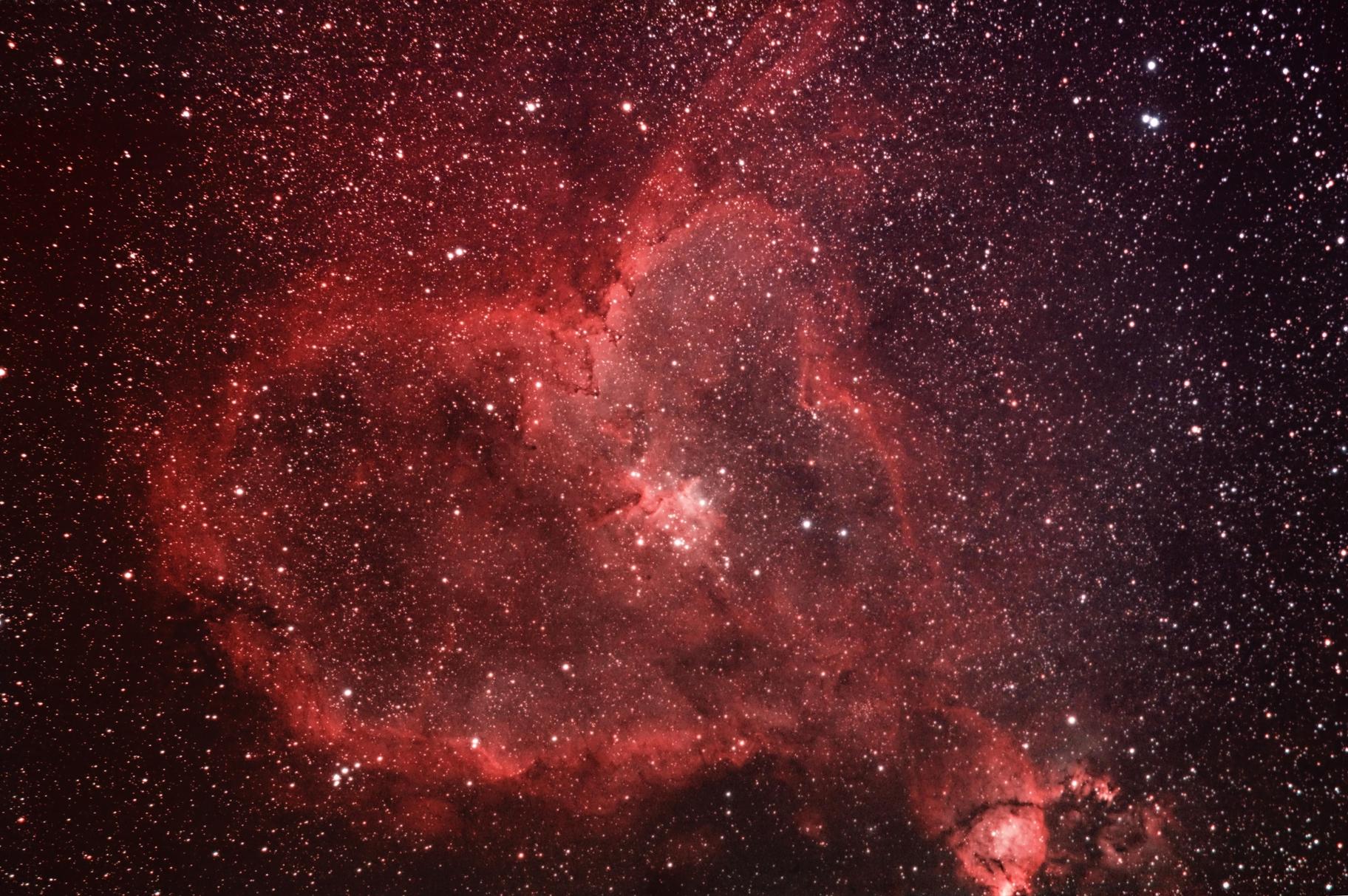 IC 1805 The Heart Nebula,                                Marko Labor