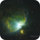 M42 SHO image from Singapore,                                astrobalcony