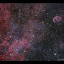 From Sadr to the Crescent Nebula,                                Göran Nilsson