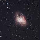 Crab Nebula (M1),                                Jim Meeker