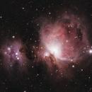 Orion Nebula,                                Comatater