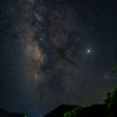 Milky Way + Jupiter @ Greece, Crete [2019-07-01],                                Thilo