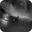 B33 Horsehead Nebula in Hydrogen-alpha,                                CG Anderson