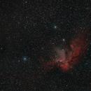 Wizard Nebula,                                francopanetta