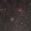 M52 and NGC7635,                                Audrius