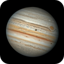 Jupiter on October 18 in callaboretion with Damian Peach,                                chilescope