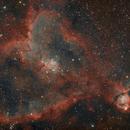 IC1805 nébuleuse du coeur,                                Jacques CROIZIERS