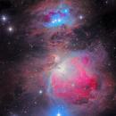 Messier 42 Orion Nebula,                                Utkarsh mishra