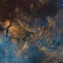 8-pane Mosaic (Hubble Palette) of the Gamma Cygni Region,                                Dimitris Platis
