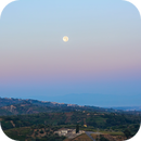 Full moon perigee after twilight,                                Phototriber