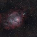 M8 The Lagoon Nebula,                                diurnal