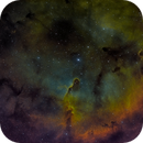 IC1396-SHO,                                Rich Sky