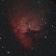 NGC 281 Pacman Nebula,                                Niven