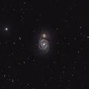 M51 The Whirlpool Galaxy,                                Lensman57