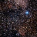 Two very weak and small nebulas RCW 89 and RCW 91 plus Pismis 20 and Lynga 3,                                Claudio Tenreiro
