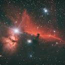 Horse Head Nebula -  Artistic,                                Dave Easton