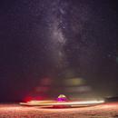 Night sky in desert,                                Reza Mohammadi