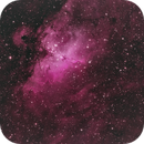 M16 narrowband with natural colour,                                Geoff