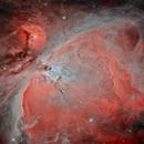 The Great Orion Nebula Imaged from Bortle 9,                                Michael Kalika